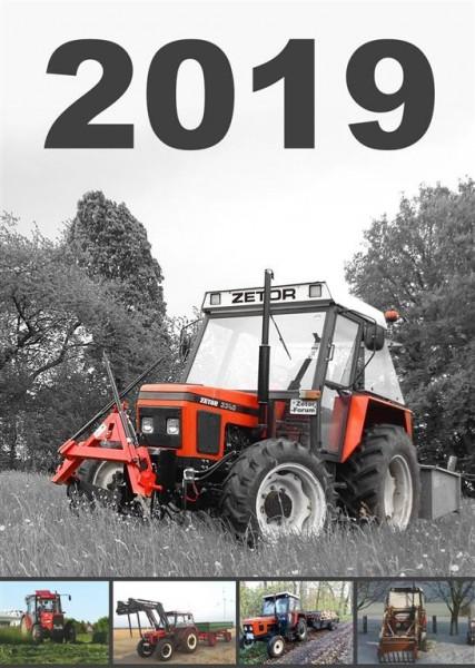 Traktoren Kalender 2019