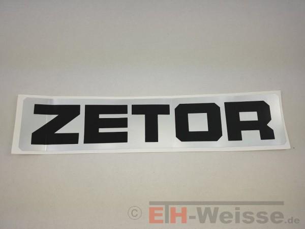 """Zetor - Aufkleber """"ZETOR"""" für das Kabinendach - Nr. 80804524"""